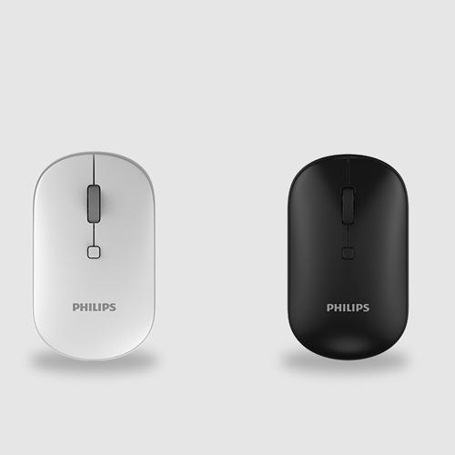 Chuột không dây philips 7403 thiết kế mới in logo quà tặng doanh nghiệp