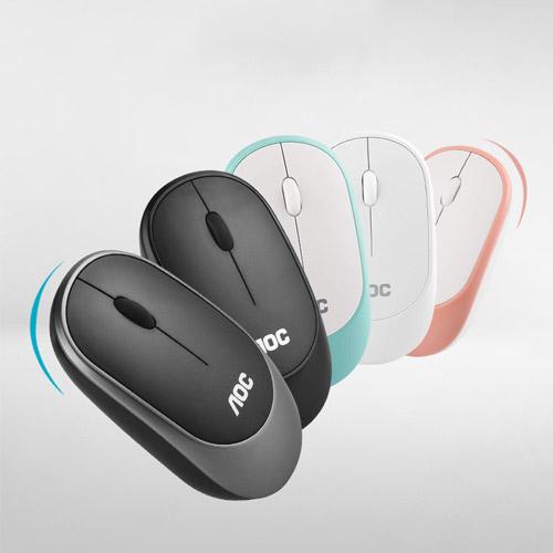 Chuột không dây AOC 310s 1 thiết kế mới in logo quà tặng doanh nghiệp