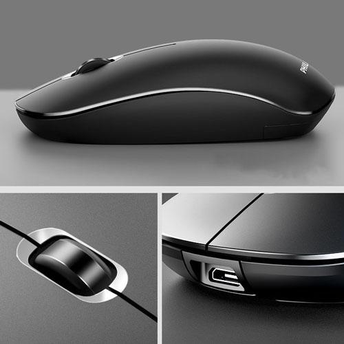 Chuột không dây in logo quà tặng doanh nghiệp